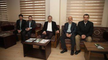 Zeytinburnu Belediye Başkanı Aydın'dan Ziyaret