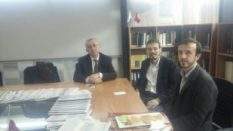 DEKAN PROF. DR. M. HÜSREV SUBAŞI'YI MAKAMINDA ZİYARET ETTİK