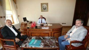 SN. PROF.DR.NUMAN KURTULMUŞ'U ZİYARET ETTİK