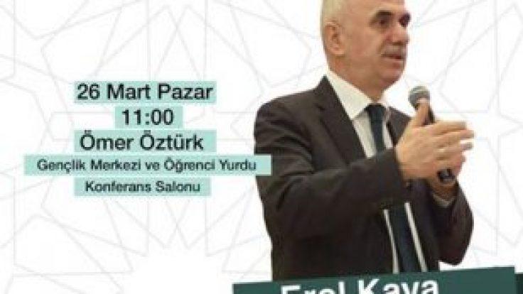 BAŞKAN YARDIMCISI KAYA FGV'DE KONFERANS VERDİ