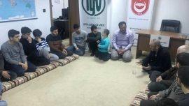 Rüştü Ecevit Fatih Gençlik Vakfı Konya Şubesi'ni Ziyaret Etti