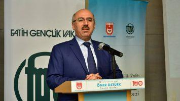 İSTANBUL ÜNİVERSİTESİ REKTÖRÜ PROF. DR. MAHMUT AK BİZLERLEYDİ