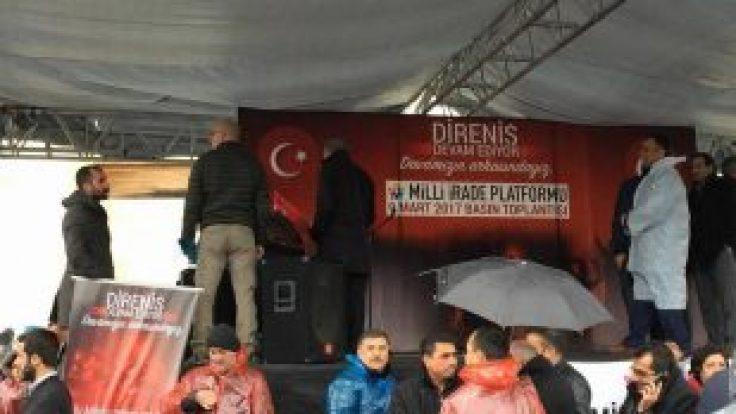 DARBECİ HAİNLERİ PROTESTO ETTİK