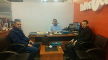 HABER7.COM GENEL YAYIN YÖNETMENİ ERDOĞAN'I ZİYARET ETTİK