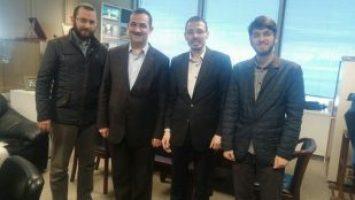 İHA HABER GENEL KOORDİNATÖRÜ ALTIKARDEŞ'İ ZİYARET ETTİK