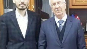 İHLAS VAKFI MÜTEVELLİ HEYETİ BAŞKANI AV. OKYAY'I ZİYARET ETTİK