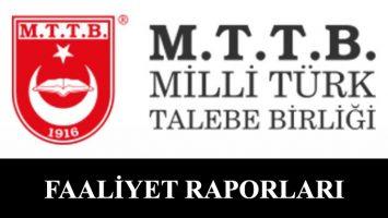 MTTB 50. Dönem Faaliyet Raporu