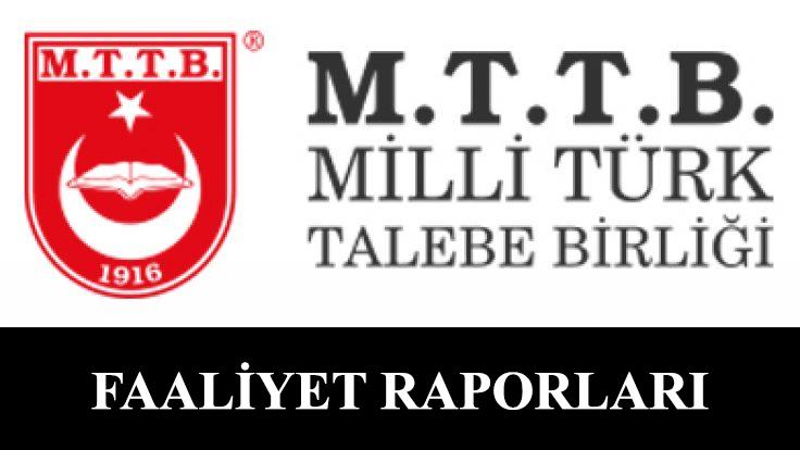 MTTB 54. Dönem Faaliyet Raporu