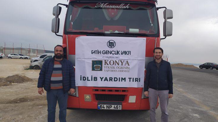 Fatih Gençlik Vakfı'ndan İdlib'e 4 bin Battaniye