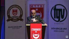 Milli Türk Talebe Birliği (MTTB) Başkanlarından Merhum Abid Özmen'in Konuşması