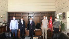 İTÜ Rektörü Prof. Dr. İsmail Koyuncu'yu Ziyaret Ettik